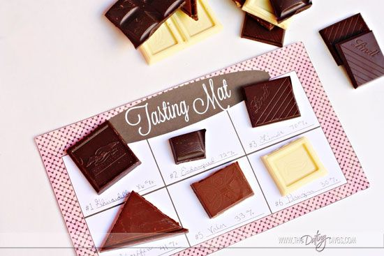 The dating divas chocolate tasting