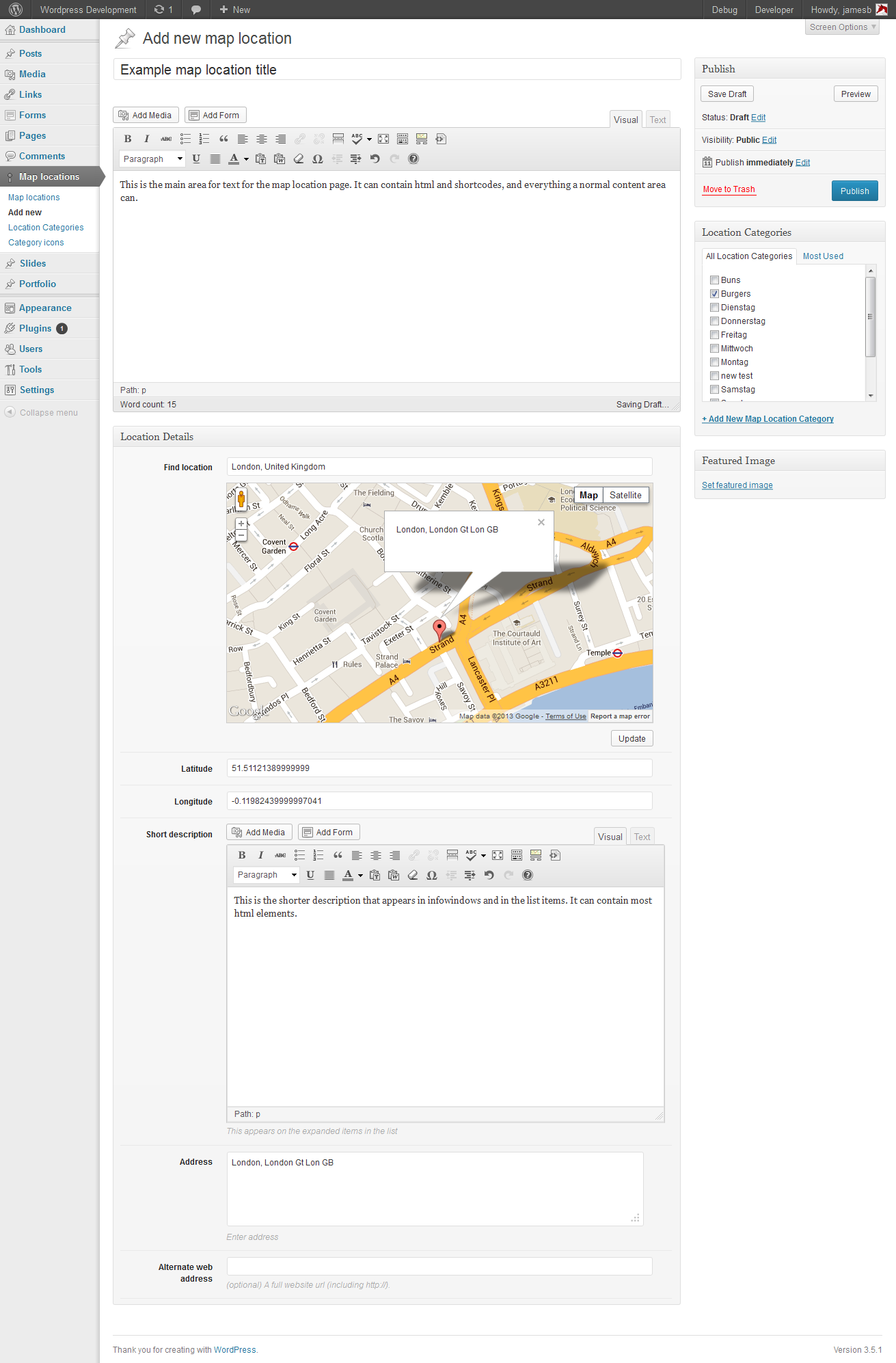 Map List Pro Google Maps & Location directories Map