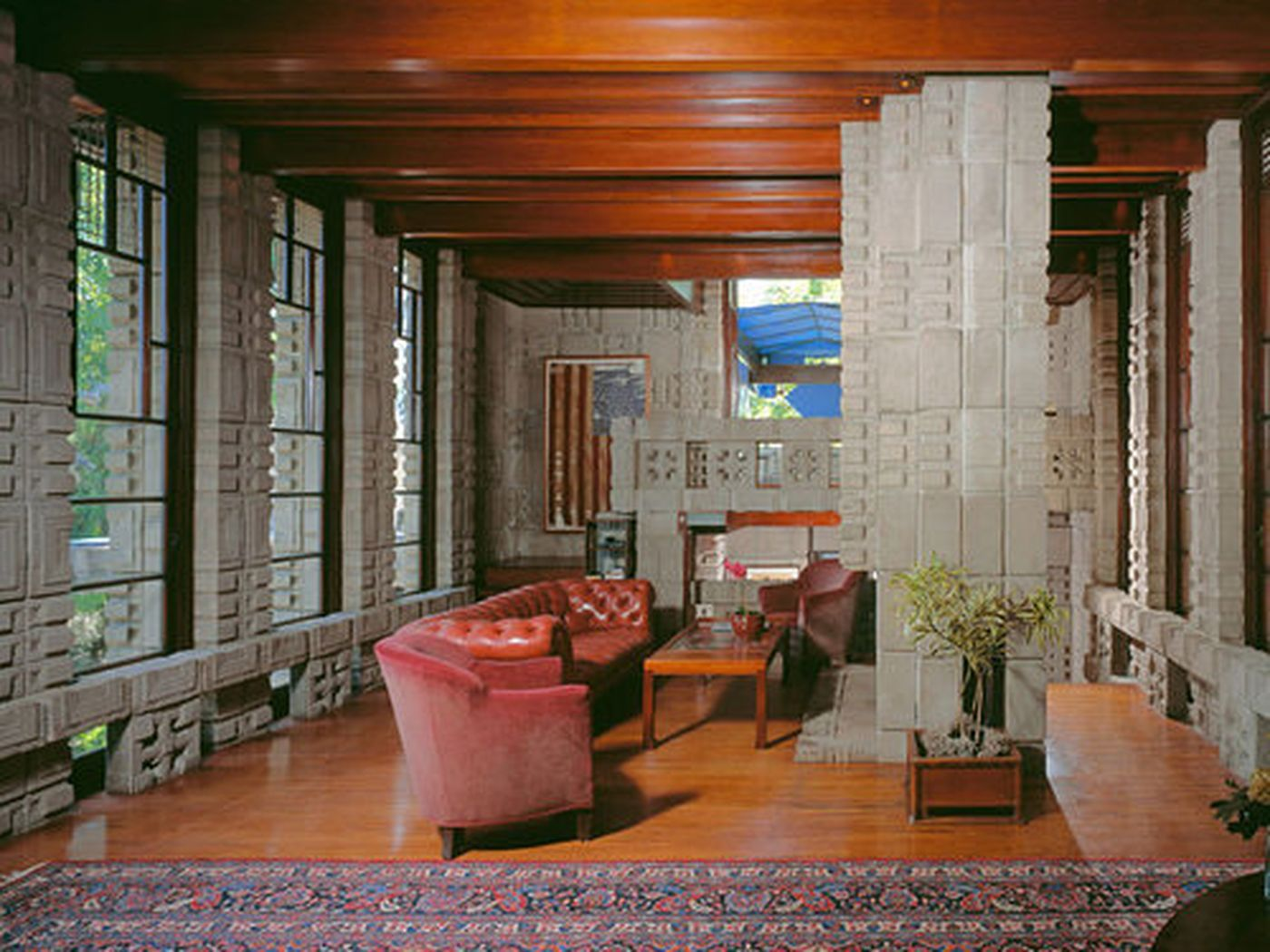 Frank Lloyd Wright Storer House Sets Sales Record in the Hills - Curbed LA