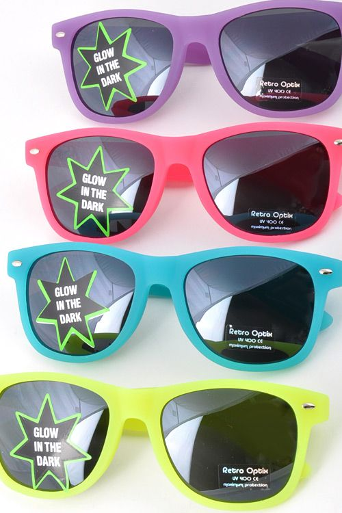 5910c43cb770 Glow in the Dark Sunglasses...FREE with purchase during SpRiNg BreAk at  BYH!! YiPpie