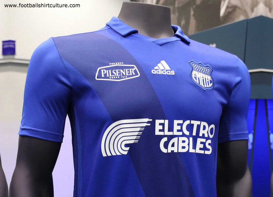 aac20f7747c This is the new Club Sport Emelec 2019 home 90th Anniversary football shirt  by Adidas. The new home kit will be used during the 2019 Campeonato  Ecuatoriano
