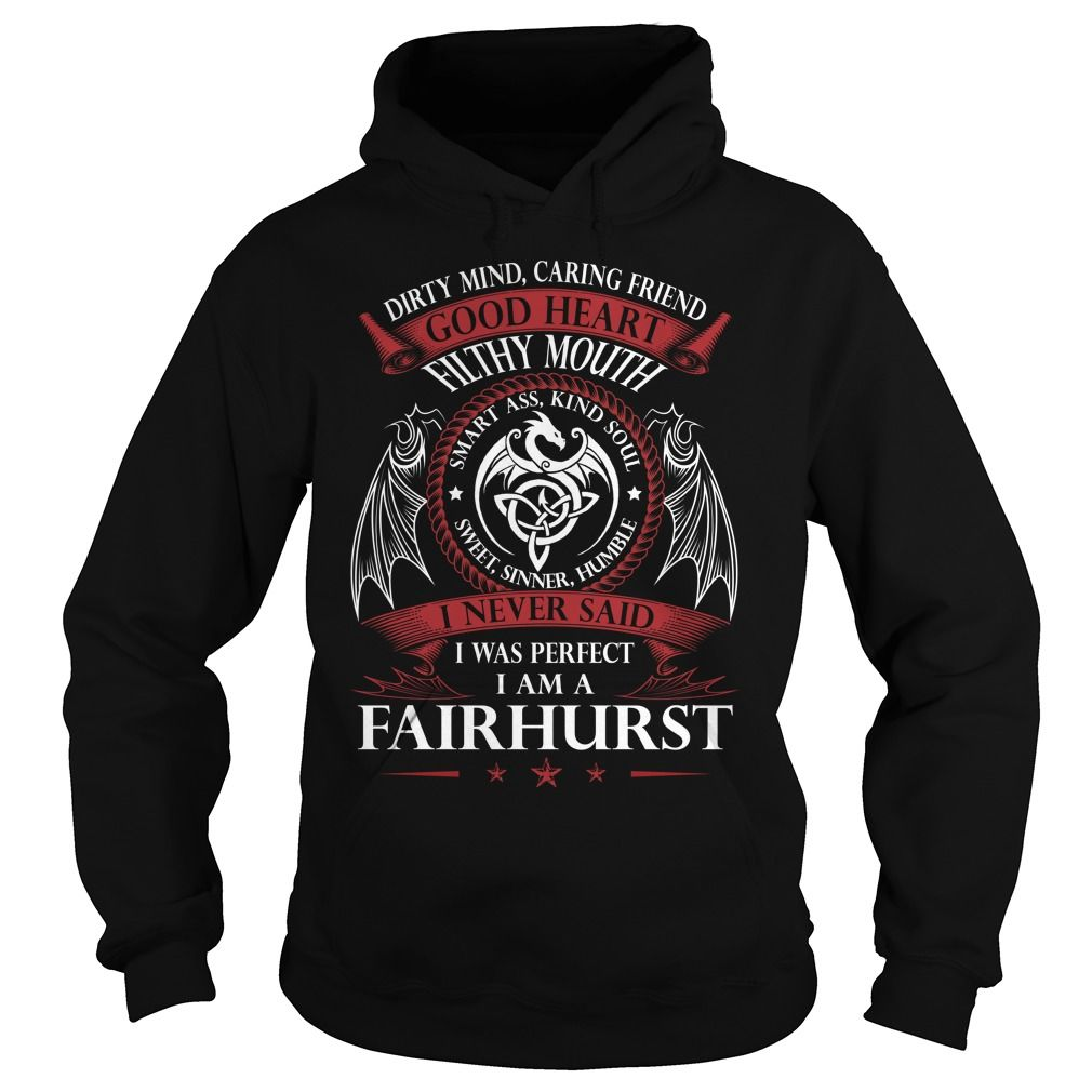 FAIRHURST Good Heart - Last Name, Surname TShirts