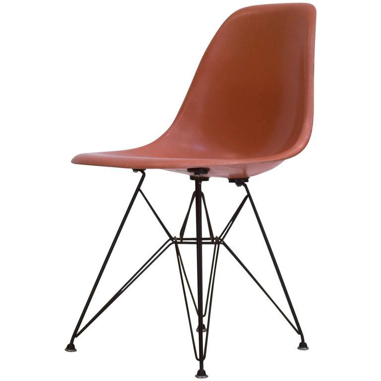 Eames Shell Chair on Original Eiffel Base, 1950s Eames