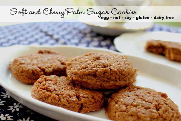 Soft Chewy Palm Sugar Cookies Biskuit Gula Telur