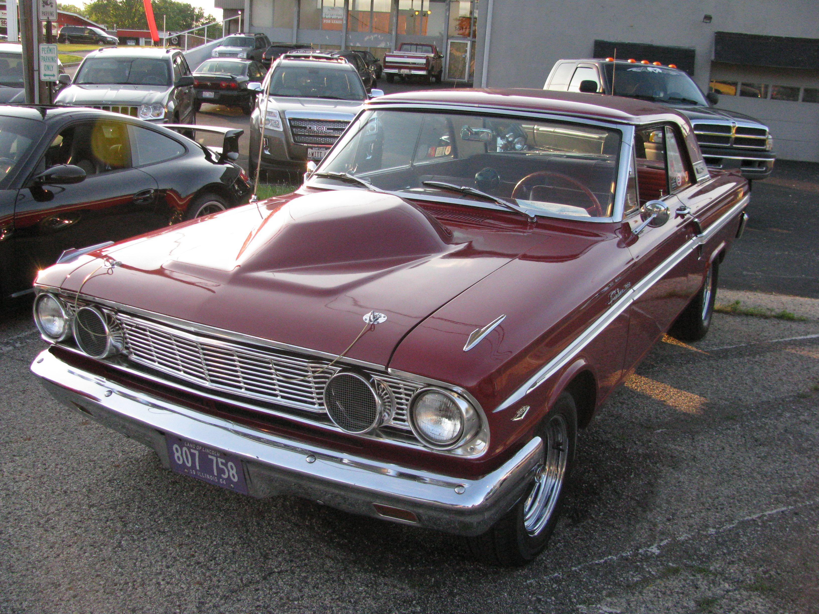 Ford Fairlane Thunderbolt V8 1964 pictures (1600 x 1200) | Vintage ...