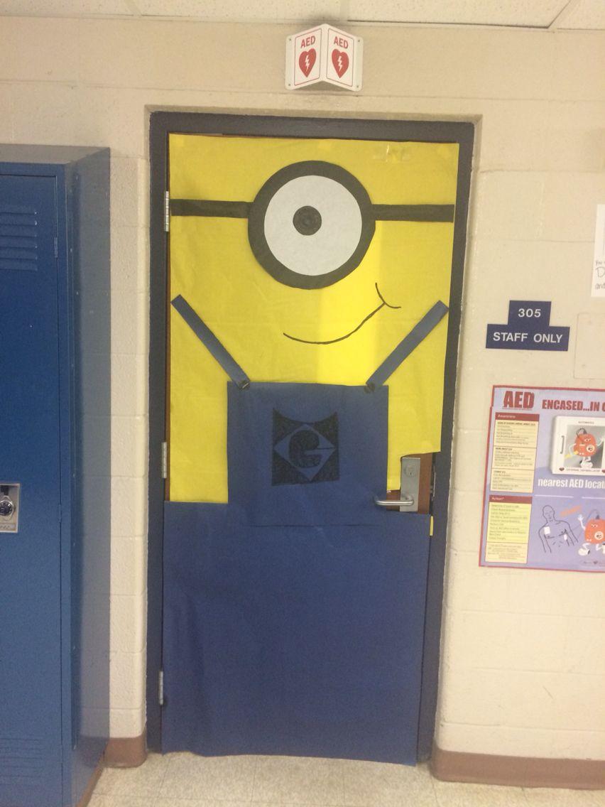 Minion door cover for Teacher Appreciation week