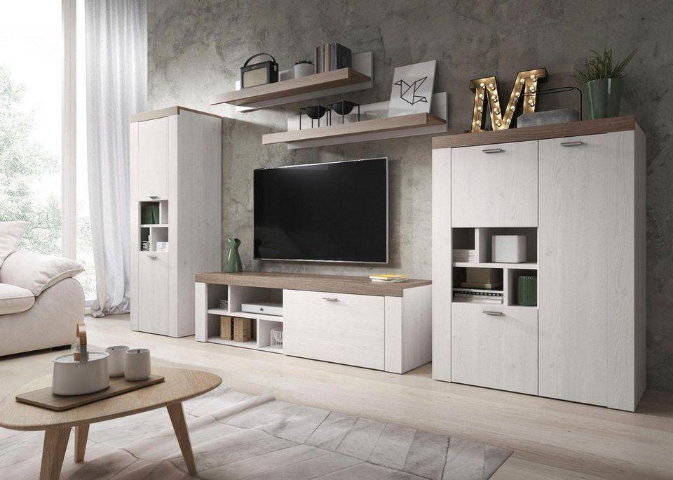 Trendmanufaktur Wohnwand Set 5 Tlg Kaufen Syn8eto Tn