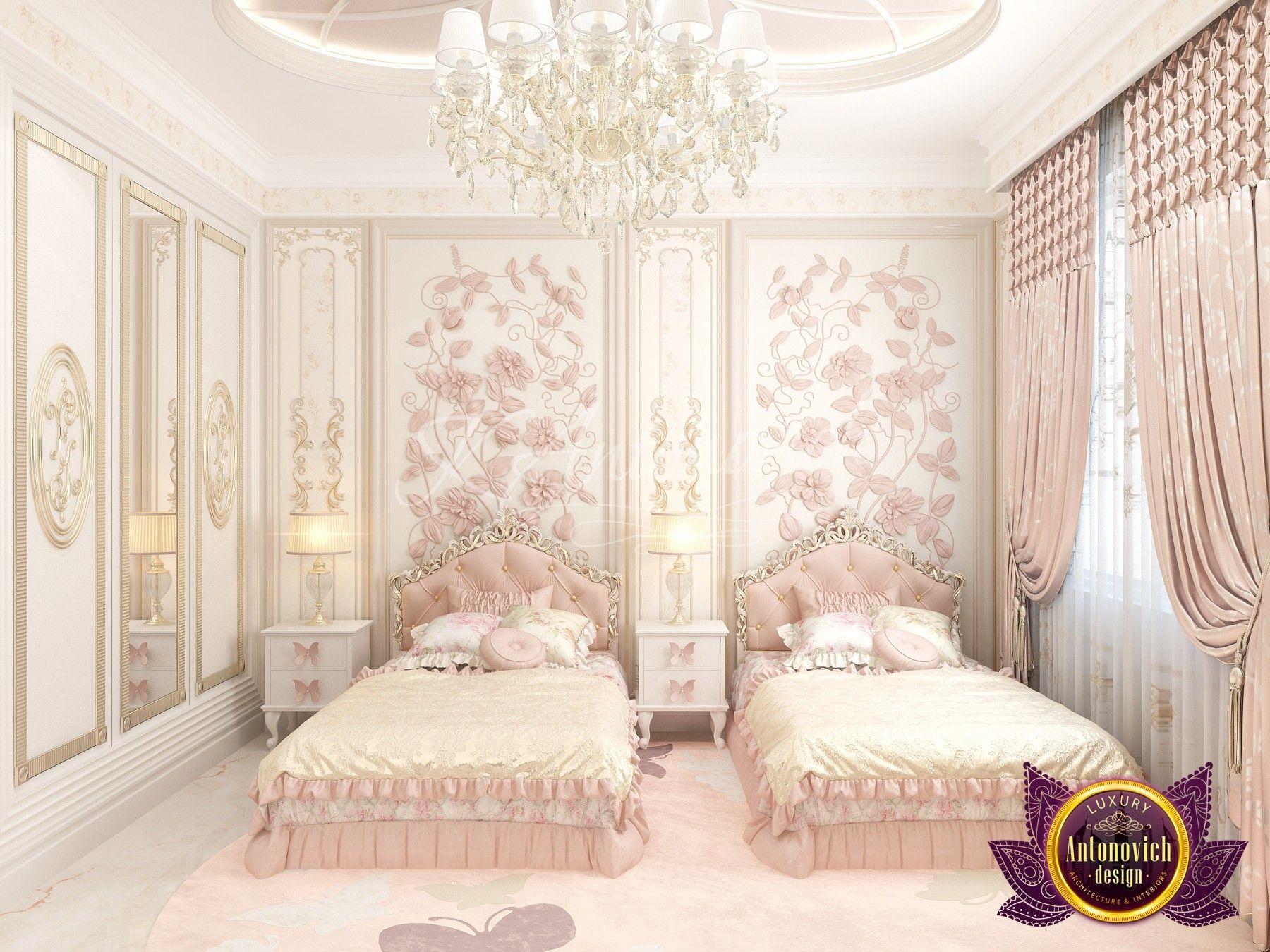 Kids Girls Luxury Mansion Bedroom Novocom Top