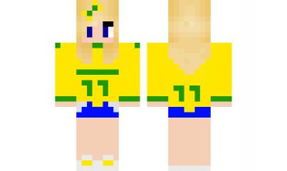 Minecraft Skin NeymarFanGirl Check Out Our YouTube Httpswww - Skin para minecraft pe de neymar