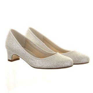 Rainbow Club Maisie Childrens Wedding Shoes Ivory or White ...