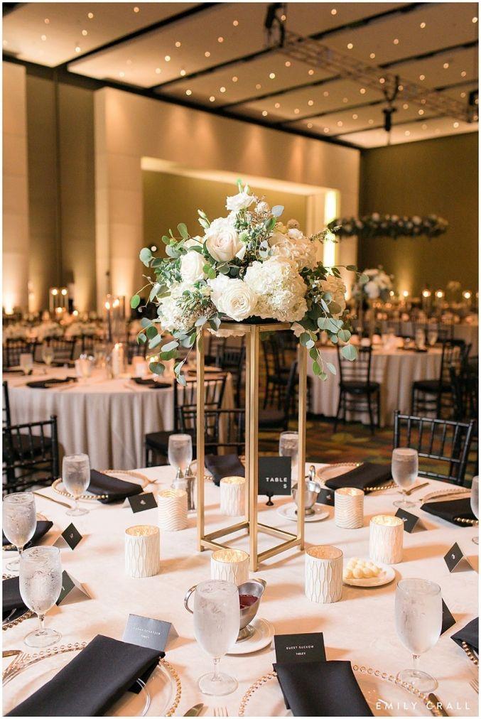 Classic Black & White Wedding : Marisa & Josh images