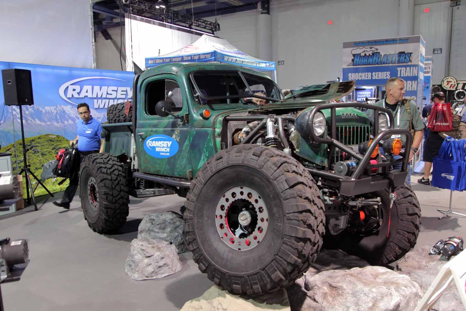 Mega Gallery Most Epic Trucks Of The 2015 SEMA Show AutoGuide News