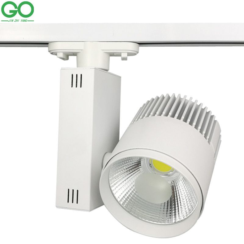 Led track light 30w cob rail light ceiling pendant track lighting led track light 30w cob rail light ceiling pendant track lighting spot light systems for kitchen clothes shoes shop store lamp icon2 luxury designer aloadofball Image collections