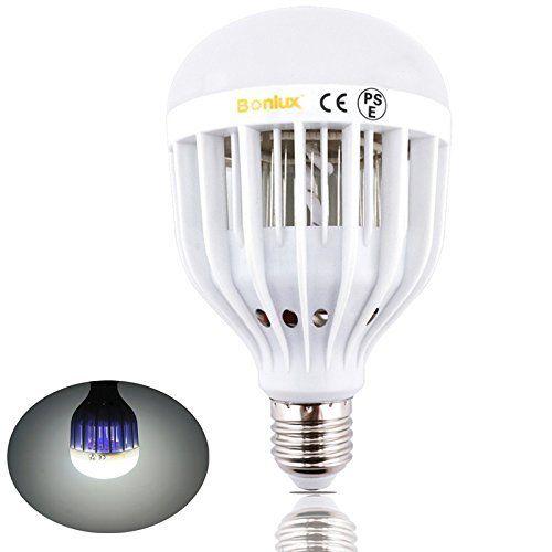 Bonlux Led Bug Zapper Light Bulb Medium Screw E26 Base 120v 10w