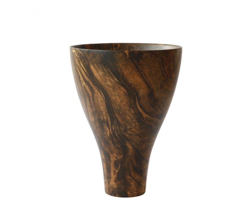 Mango Wood Vase Small Vases Vessels Weylandts South Africa