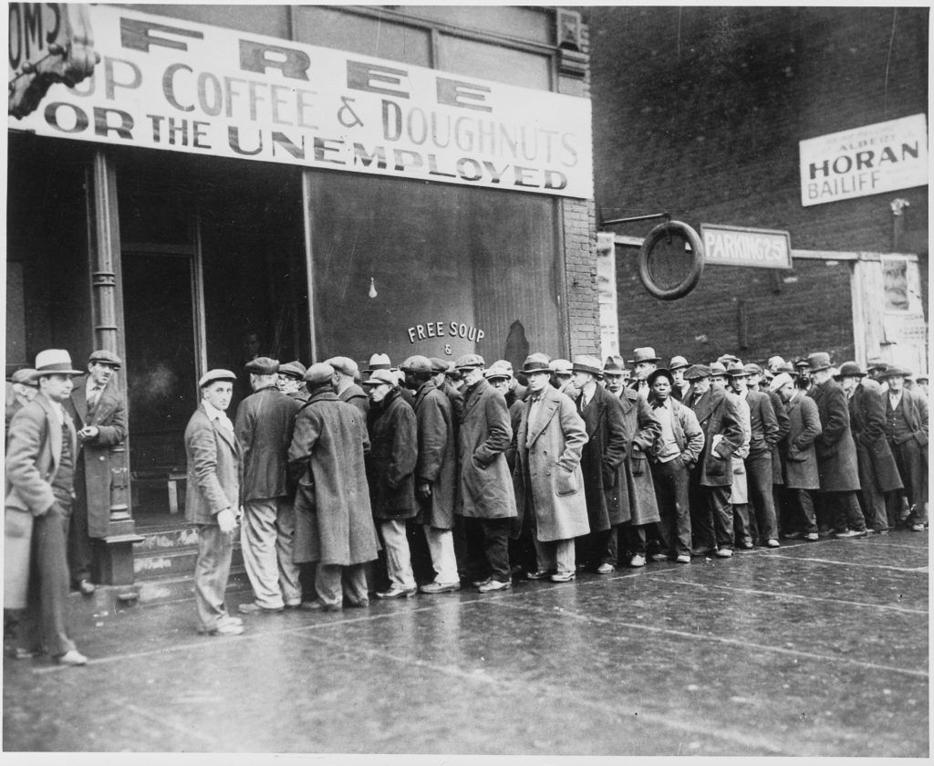 Great Depression tough times.