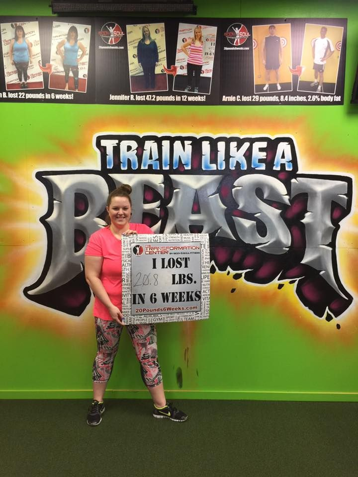 This challenge is life changing! I have never in my life felt stronger and more confident! I am ready for challenge number 2 and to lose another 20. - Shannon