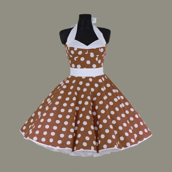 hnědá spodnička šaty korzet - LolaBlossom.com Kinds Of Clothes 80e0932618