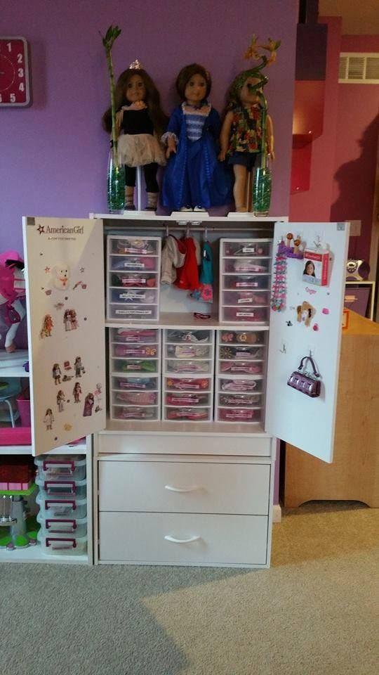 Simple Storage From Target Furniture American Girl Storage