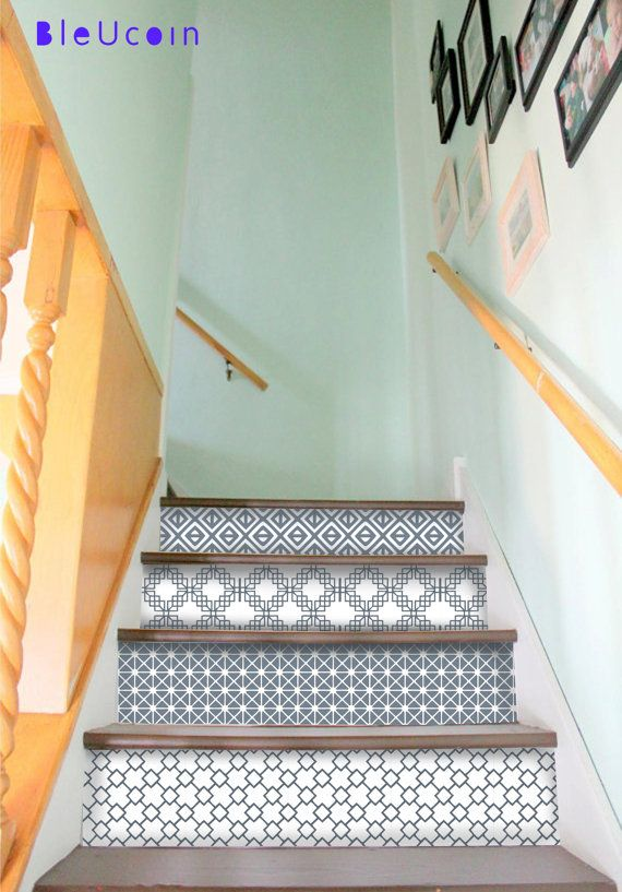 Zagreb StairRiser Peel Stick Vinyl Decal Self Adhesive