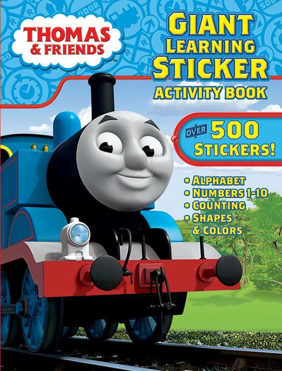 Thomas Giant Sticker Book - 24 Units