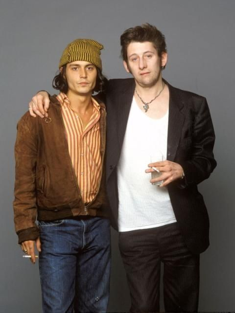 Johnny Depp & Shane McGowan (The Pogues)