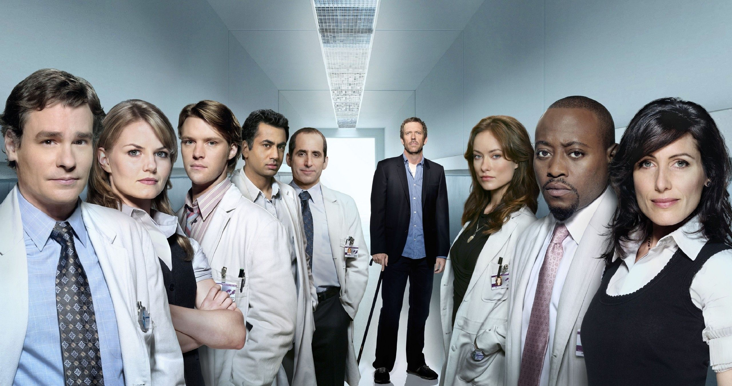 House M.D. House MD Cast Wallpaper Doctor house
