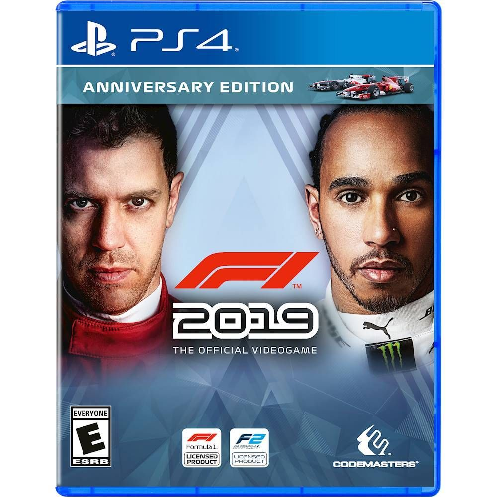 F1 2019 Anniversary Edition Playstation 4 In 2020 Xbox One