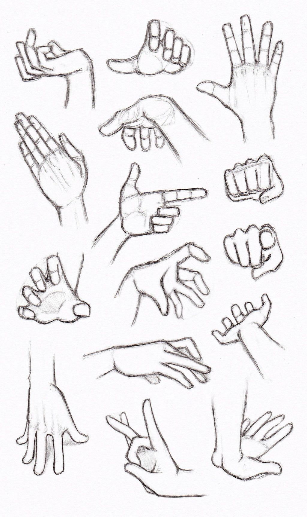 Copy\'s and Studies: Hands by WonderingMind23.deviantart.com on ...