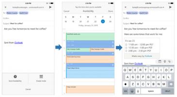 Outlook app sender sensitive data til Microsoft uten