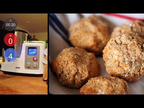Gesunde Hafer-Quark-Brötchen mit Mandeln Neues Rezept Aldi Süd - aldi studio küchenmaschine