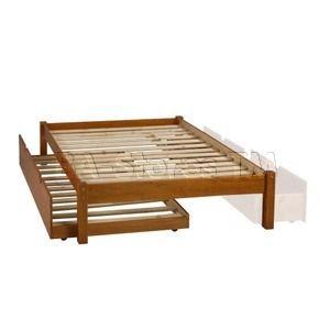 kids beds montana brazilian pine wood platform bed with trundle pif 2334 trundle 6 cindy 39 s. Black Bedroom Furniture Sets. Home Design Ideas