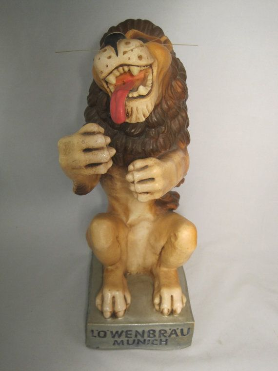 3 D Lowenbrau Munich Germany Lion Beer statue by ...