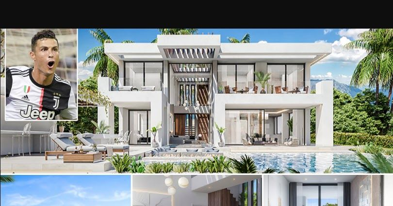 Pin By Gistzone On Gistzone In 2019 Mansions Cristiano Ronaldo