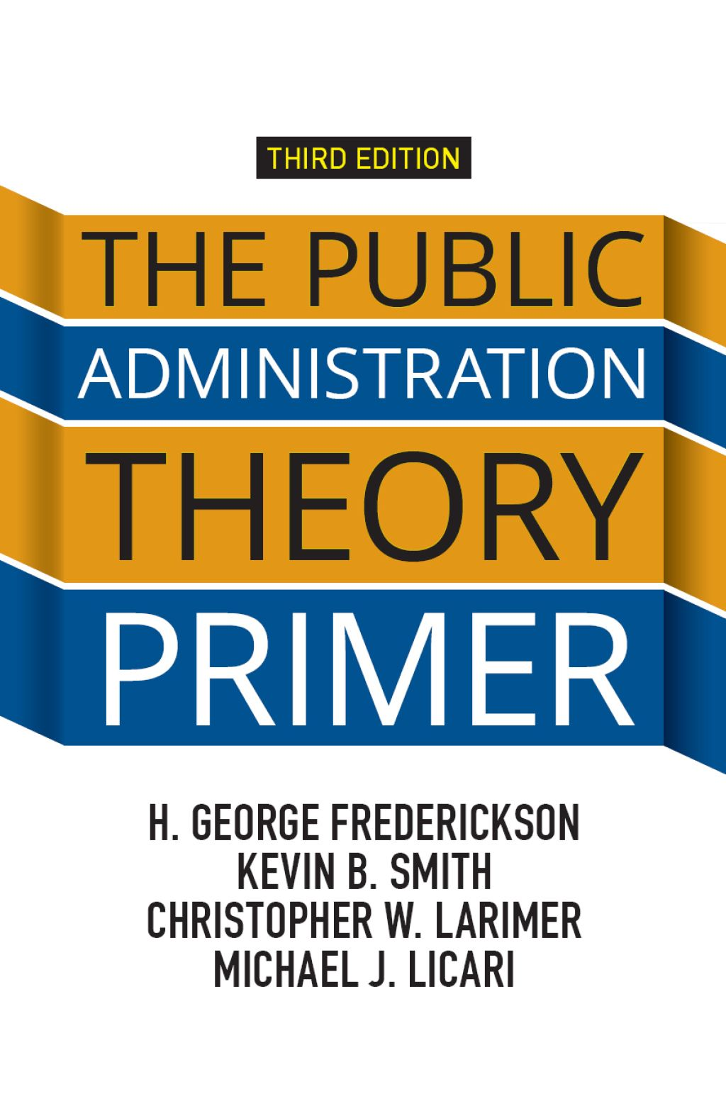 The Public Administration Theory Primer Ebook Rental