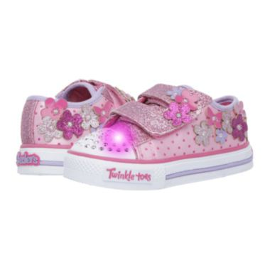 3086f0df0140 Skechers® Shuffles Girls Flower Sneakers - Toddler found at  JCPenney