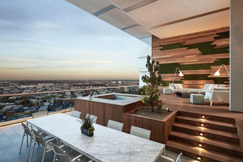 This Balcony With Views Of Brooklyn Was Designed For Outdoor