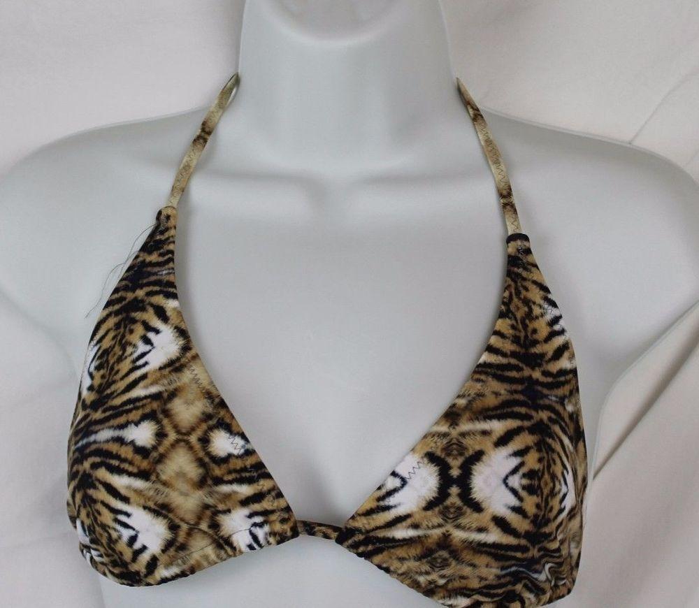 5a312074276ad Popupshop designer for J.Crew Women s Tiger Print Bikini Top