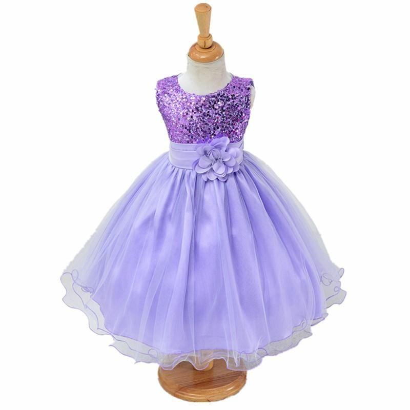 3-14yrs teenagers Girls Dress Wedding Party Princess Christmas Dress ...
