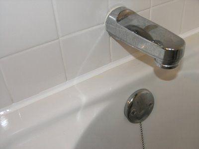 Dover Projects How To Caulk A Bathtub Caulking Household Hacks