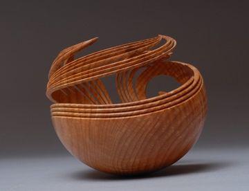 Beautiful wood work by Leon Lacoursiere