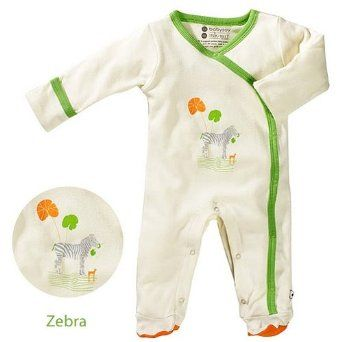 Baby Soy Illustrated Organic Footie