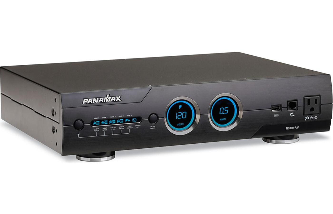 Panamax M5300 Pm Power Line Conditioner And Surge Protector Home Theater Home Automation Black House