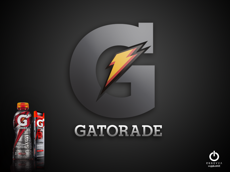 Portada , Plantilla power point Gatorade , desarrollado en e-NNOVVA
