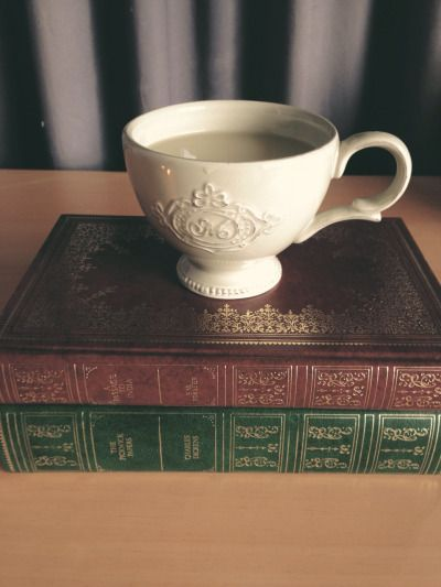 goshdarnitbooks:  December Book Photo Challenge| Day Eleven | Coco and a Book  A Passage to India by E. M. Forster& The Pickwick Papers by Charles Dickens