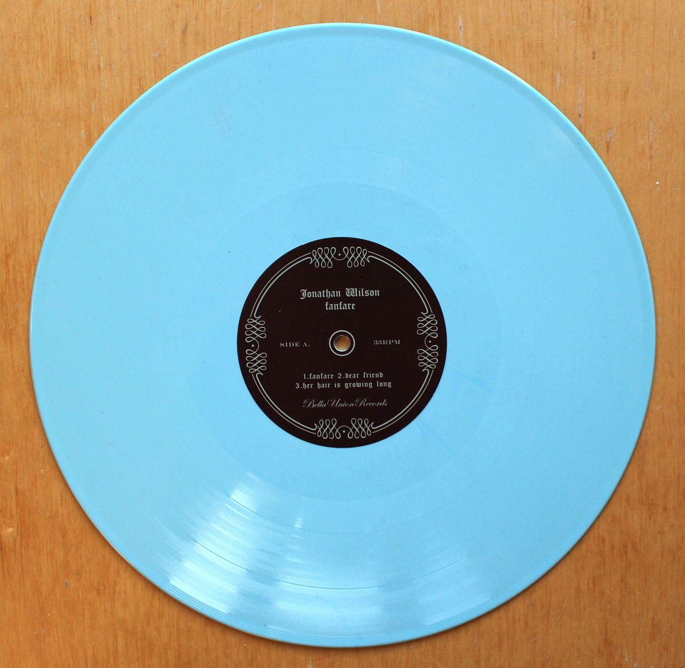 Jonathan Wilson Fanfare Blue Vinyl Bella Union Jonathan Wilson Blue Vinyl Vinyl