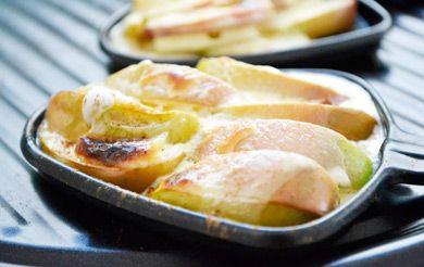 Zimtapfel Raclette Rezept #racletteideen