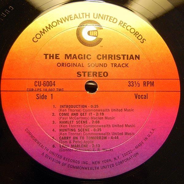 Peter Sellers Ringo Starr The Magic Christian Original Sound Track Original Sound Track Ringo Starr The Originals
