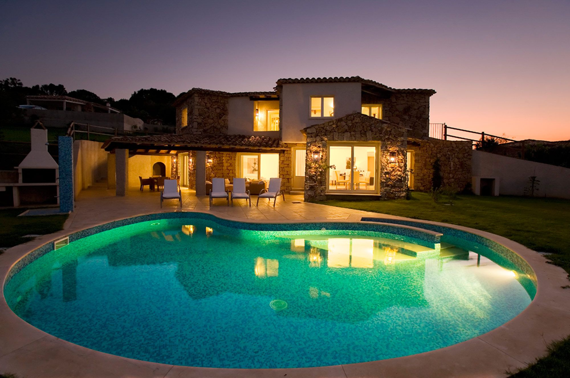 Wonderful private Villa with pool close to beach in ...