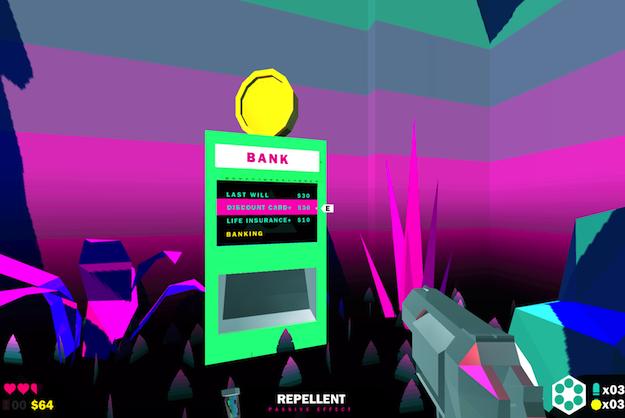 Kill Screen Shoot 'Em Up Game Teaches Finance Management